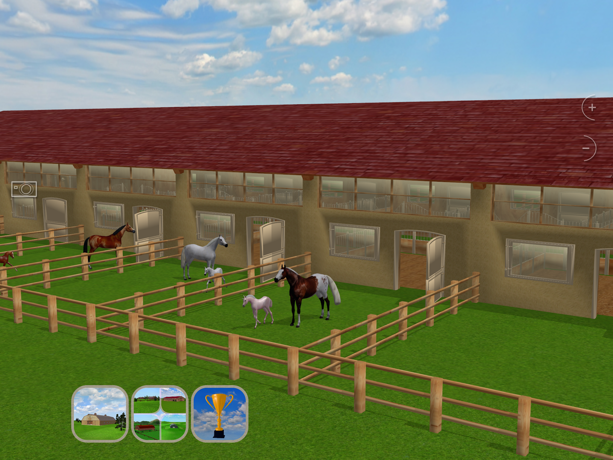 Jumpy Horse Breeding 1.0 - New Equine Game for iPad and iPhone Image